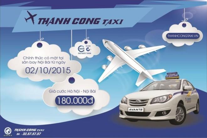 Bảng Giá và Điện Thoại Taxi Thành Công Nội Bài