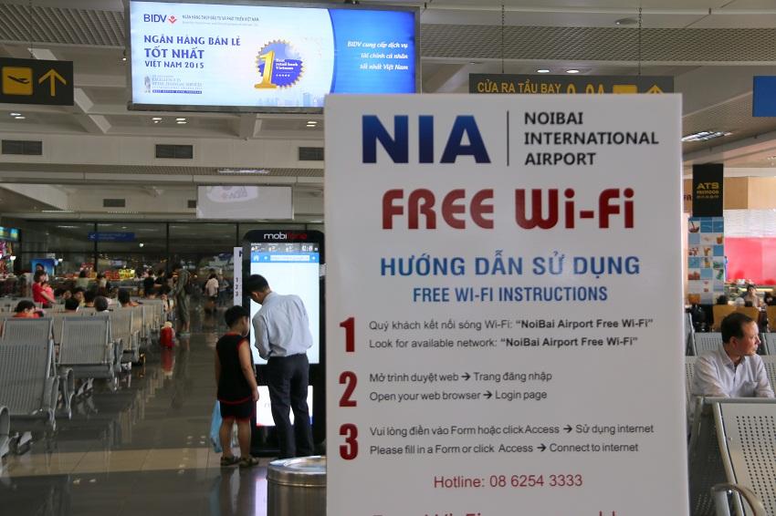 Dịch vụ internet wifi Miễn Phí trong Nội Bài
