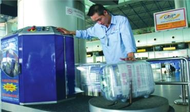 Dịch vụ : Đóng gói hành lý trong Sân Bay Nội Bài