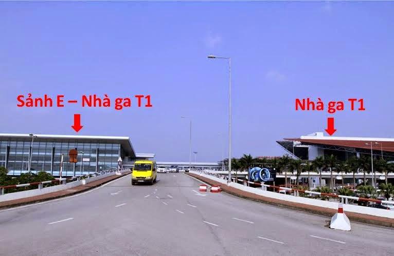 Sảnh E nhà ga T1 sân bay Nội Bài/Taxi Nội Bài Service