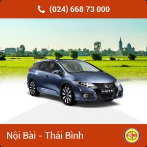 Taxi Nội Bài đi Thái Bình