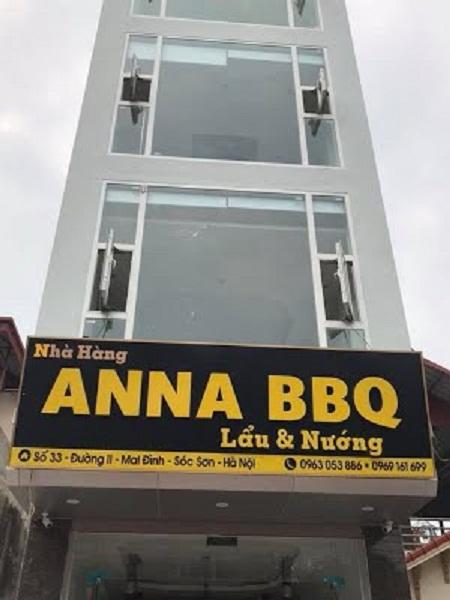 Nhà Hàng ANNA BBQ Nội Bài,Nhà Hàng sân bay Nội Bài