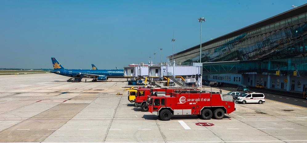 Dịch vụ Cứu hoả,cứu nạn tại Sân Bay quốc tế Nội Bài